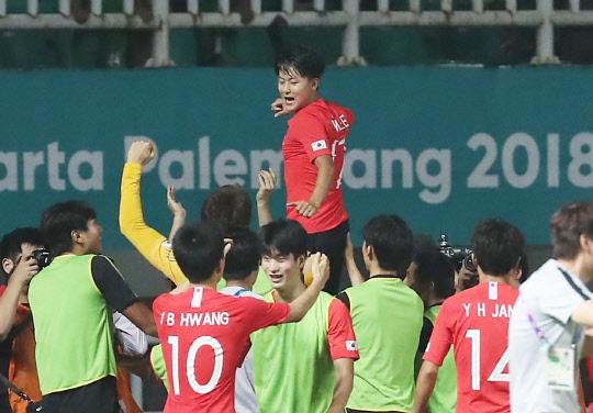 승우·희찬 연장전 골!골! 한국, 일본 꺾고 대회 2연패